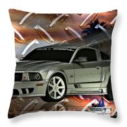 Mustang Saleen  Throw Pillow