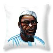 Mustapha Alassane Throw Pillow