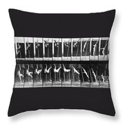 Muybridge: Photography Throw Pillow