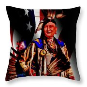 My Cousin Throw Pillow