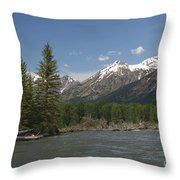 My Favorite Of The Grand Tetons Throw Pillow
