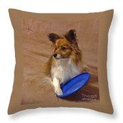 My Frisbee Throw Pillow