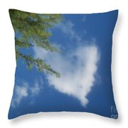 My Heart - Ile De La Reunion Throw Pillow
