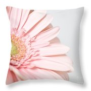 My Heart Opens For You Throw Pillow
