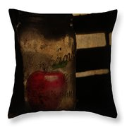My Hidden Apple  Throw Pillow