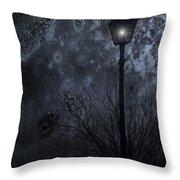 My Light Will Wait Throw Pillow