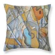 My Love Affair With Art Throw Pillow