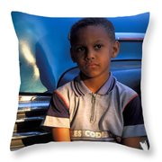 My Old Chevy Throw Pillow
