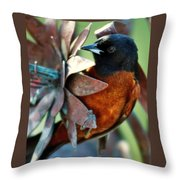 My Orange Taniger Throw Pillow
