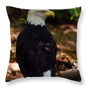 My Serious Side Throw Pillow