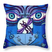 My Soulful Eyes Throw Pillow
