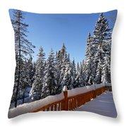 My Sunday - Morning ... Throw Pillow