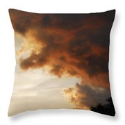 My Sunset I See Every Night  Throw Pillow