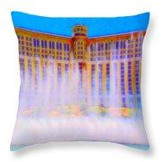 My Vegas Bellagio 2 Throw Pillow