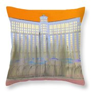 My Vegas Bellagio 3 Throw Pillow