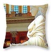 My Vegas Caesars 17 Throw Pillow by Randall Weidner