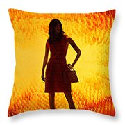 My Vegas Caesars 20 Throw Pillow
