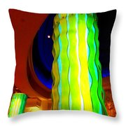 My Vegas Caesars 26 Throw Pillow by Randall Weidner