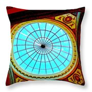 My Vegas Caesars 8 Throw Pillow by Randall Weidner