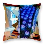 My Vegas City Center 37 Throw Pillow by Randall Weidner