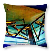 My Vegas City Center 38 Throw Pillow by Randall Weidner