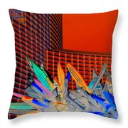 My Vegas City Center 59 Throw Pillow