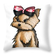 My Wonderful Package Of Love Throw Pillow