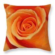 My Wonderful Rose Throw Pillow