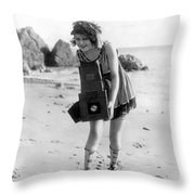 Myrtle Lind (1901-1966) Throw Pillow