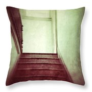 Mysterious Stairway Throw Pillow