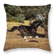 Mystic Flight Throw Pillow