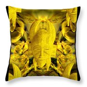 Mystic Illusions Throw Pillow