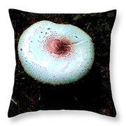 Mystic Mushroom Throw Pillow