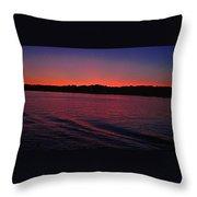Mystic Sunset Throw Pillow