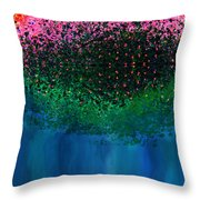 Mystical Island Throw Pillow