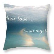 Mystifying Throw Pillow
