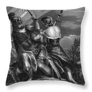 Mythology: Ares Throw Pillow by Granger
