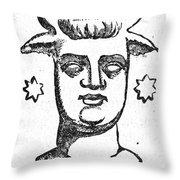 Mythology: Baal Throw Pillow