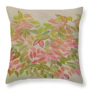 Nadina Leaves Throw Pillow