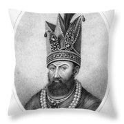 Nadir Shah (1688-1747) Throw Pillow