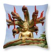 Naga  Throw Pillow by Adrian Evans
