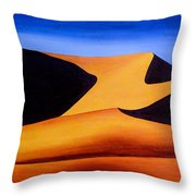 Namibia 1 Throw Pillow