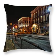 Napanee After Midnight Throw Pillow