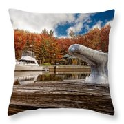 Napanee Harbour One Throw Pillow
