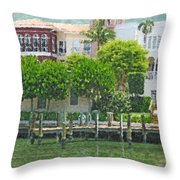 Napolean Waterway Throw Pillow