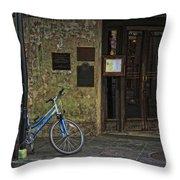 Napoleon House New Orleans Throw Pillow