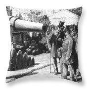 Napoleon IIi At Paris, 1867 Throw Pillow