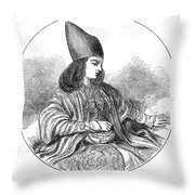 Naser Al-din Throw Pillow