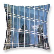 Nashville Reflections Throw Pillow
