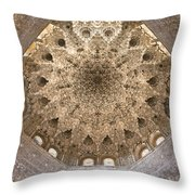 Nasrid Palace Ceiling Throw Pillow